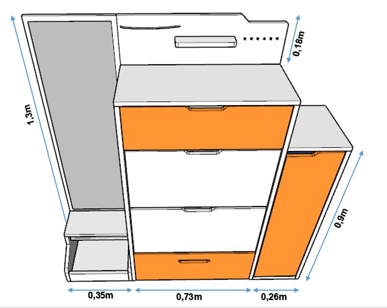 Kích thước tủ